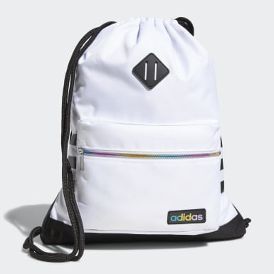Training White Classic 3-Stripes Sackpack