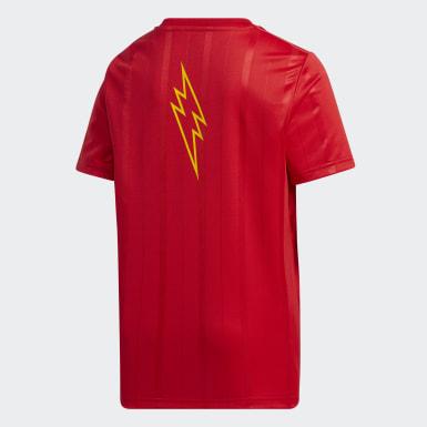 เด็กผู้ชาย Sport Inspired สีแดง YB PKMN T2