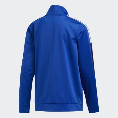 Youth Training Blue Core Jacket