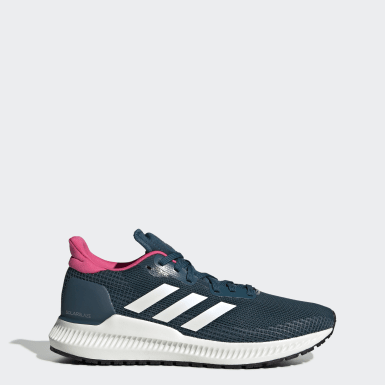 Zapatillas Solar Blaze Azul Mujer Running
