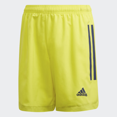 Youth Soccer Yellow Condivo 20 Shorts