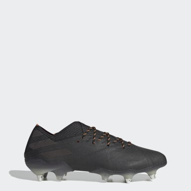 Bota de fútbol Nemeziz 19.1 césped natural húmedo Negro Fútbol