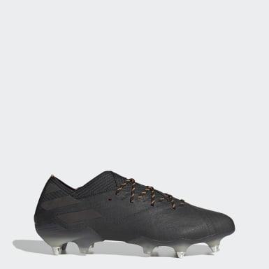 Botas de Futebol Nemeziz 19.1 – Piso mole Preto Futebol