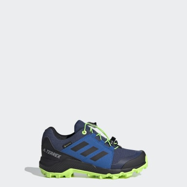 Kids TERREX Blue Terrex GORE-TEX Hiking Shoes