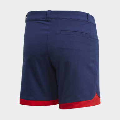 Kids Golf Blue Scalloped Shorts