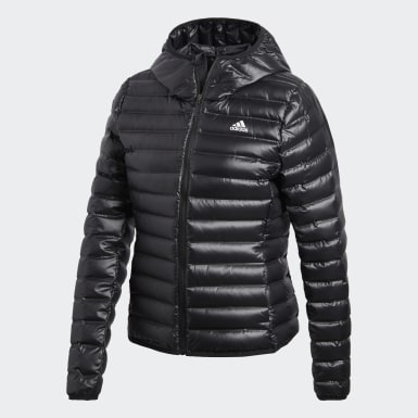Frauen City Outdoor Varilite Hooded Daunenjacke Schwarz