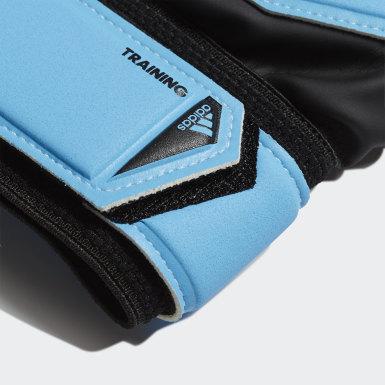 Fußball Predator Training Torwarthandschuhe Blau