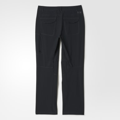 Pantalones flexibles para senderismo Negro Hombre TERREX