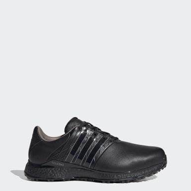 Men Golf Black TOUR360 XT-SL Spikeless 2.0 Wide Golf Shoes
