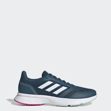 ผู้หญิง วิ่ง สีน้ำเงิน รองเท้า Nova Flow
