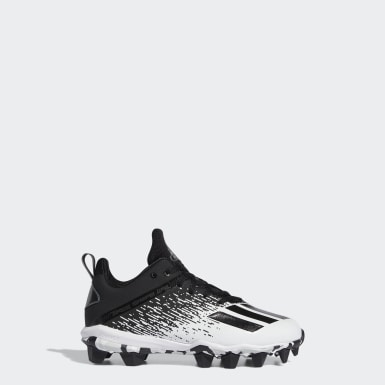 Children Football Black Adizero Spark MD Cleats