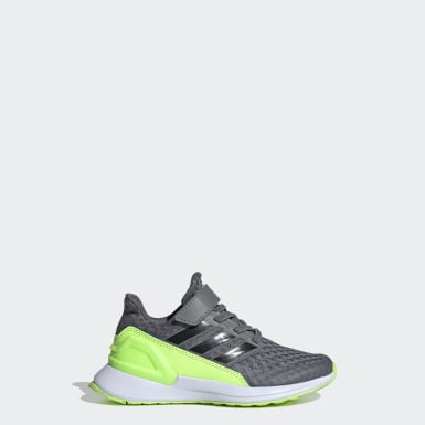 Kids 4-8 Years Running Grey RapidaRun Shoes