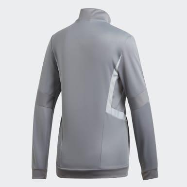Women Soccer Grey Tiro 19 Training Jacket