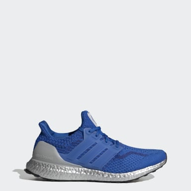 Men Running Blue Ultraboost 5.0 DNA Shoes