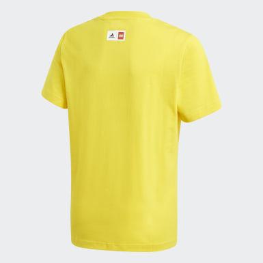 Jungen Training LEGO Classics Graphic T-Shirt Gelb