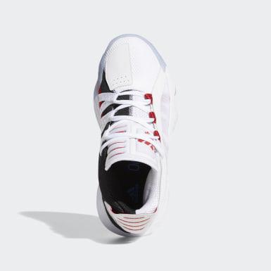 Scarpe Dame 6 Bianco Bambini Basket