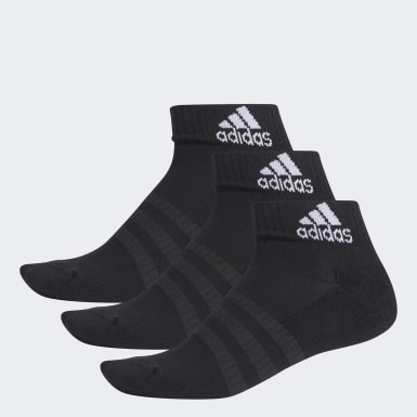 Tennis Black Cushioned Ankle Socks 3 Pairs