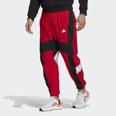 Muži Athletics červená Kalhoty O Shape
