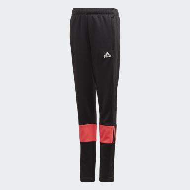 Boys Træning Sort Must Haves 3-Stripes AEROREADY bukser