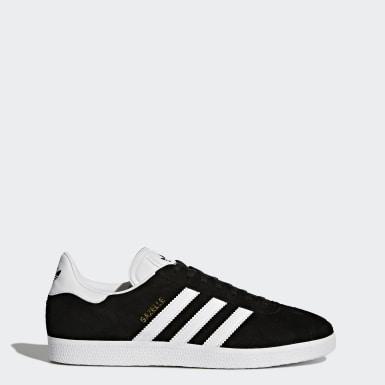 Originals สีดำ รองเท้า Gazelle Shoes