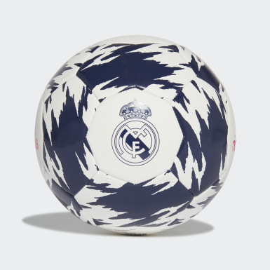 Real Madrid Club Ball Bialy