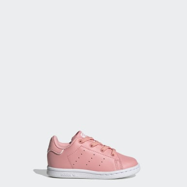 Kinder Originals Stan Smith Schuh Rosa