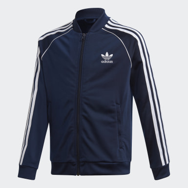 Veste de survêtement SST bleu Adolescents Originals