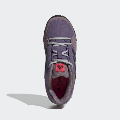 Chaussure de randonnée Terrex Hyperhiker Low Violet Enfants TERREX