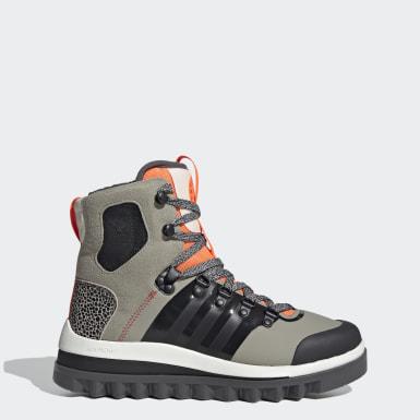 бежевый Утепленные ботинки Eulampis
