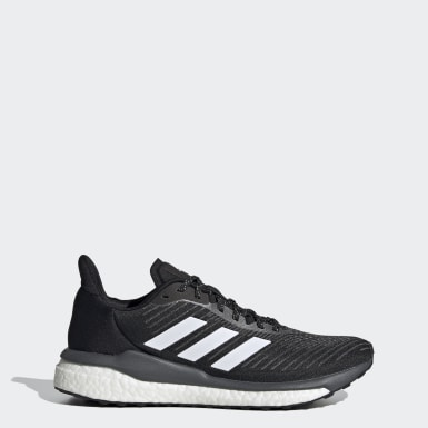 Kvinder Løb Sort Solar Drive 19 sko
