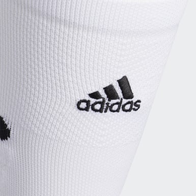 Football White Adizero Football Cushioned Crew Socks