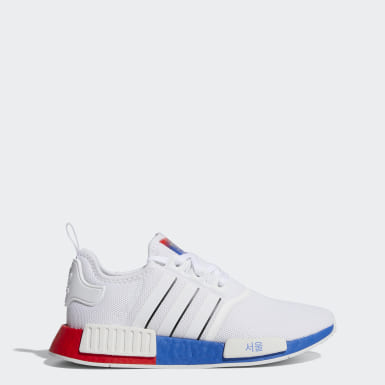 Originals White NMD_R1 Seoul Shoes