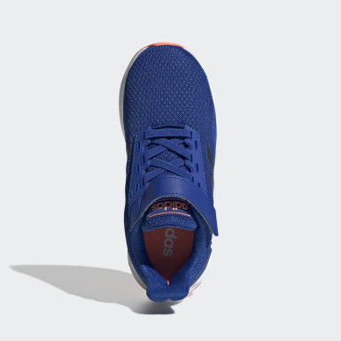 Children Running Blue Duramo 9 Shoes