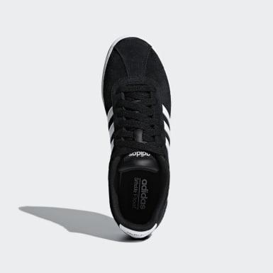 Dames Lifestyle Zwart Courtset Schoenen