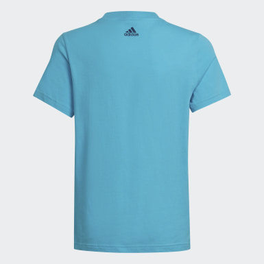Jongens Athletics Turquoise Badge of Sport T-shirt