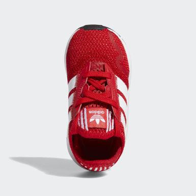 Kinderen Originals rood Swift Run X Schoenen