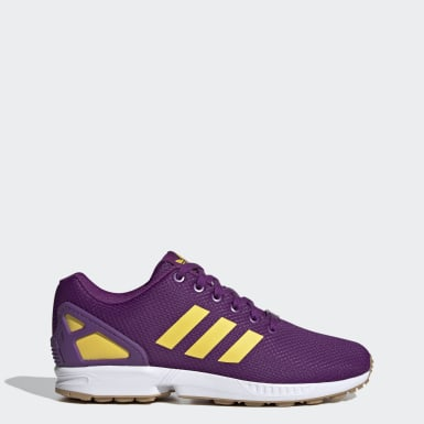Women Originals Purple ZX Flux Shoes