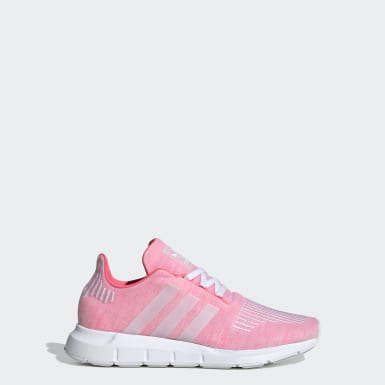 Youth 8-16 Years Originals Pink Swift Run Shoes