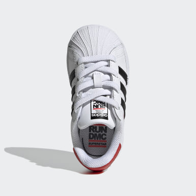 Børn Originals Hvid Superstar Run-DMC sko