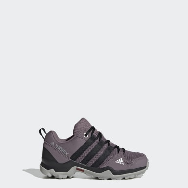 Kids TERREX Purple AX2R Shoes
