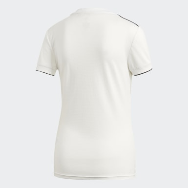 Camiseta primera equipación Real Madrid Blanco Mujer Fútbol