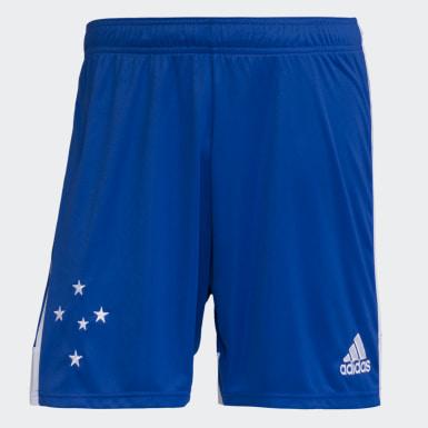 Shorts Cruzeiro 1 Azul Homem Futebol