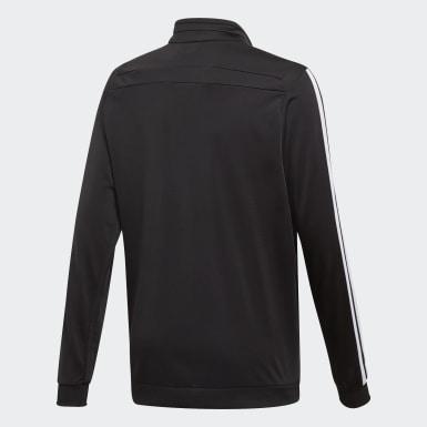 Børn Træning Sort Tiro 19 Polyester jakke