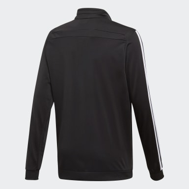 Kids Training Black Tiro 19 Polyester Track Top