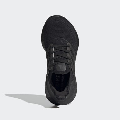 Youth Running Black Ultraboost 21 Shoes