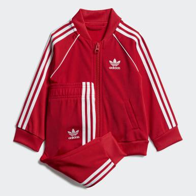 Chándal SST Rojo Niño Originals