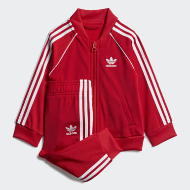 Infants Originals Red SST Track Suit