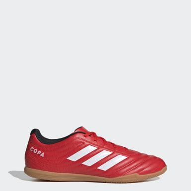 Männer Futsal Copa 20.4 IN Fußballschuh Rot