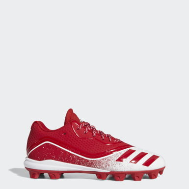 Men's Baseball Red Icon V Mid Cleats