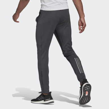 Men Running Grey Own the Run Astro Pants